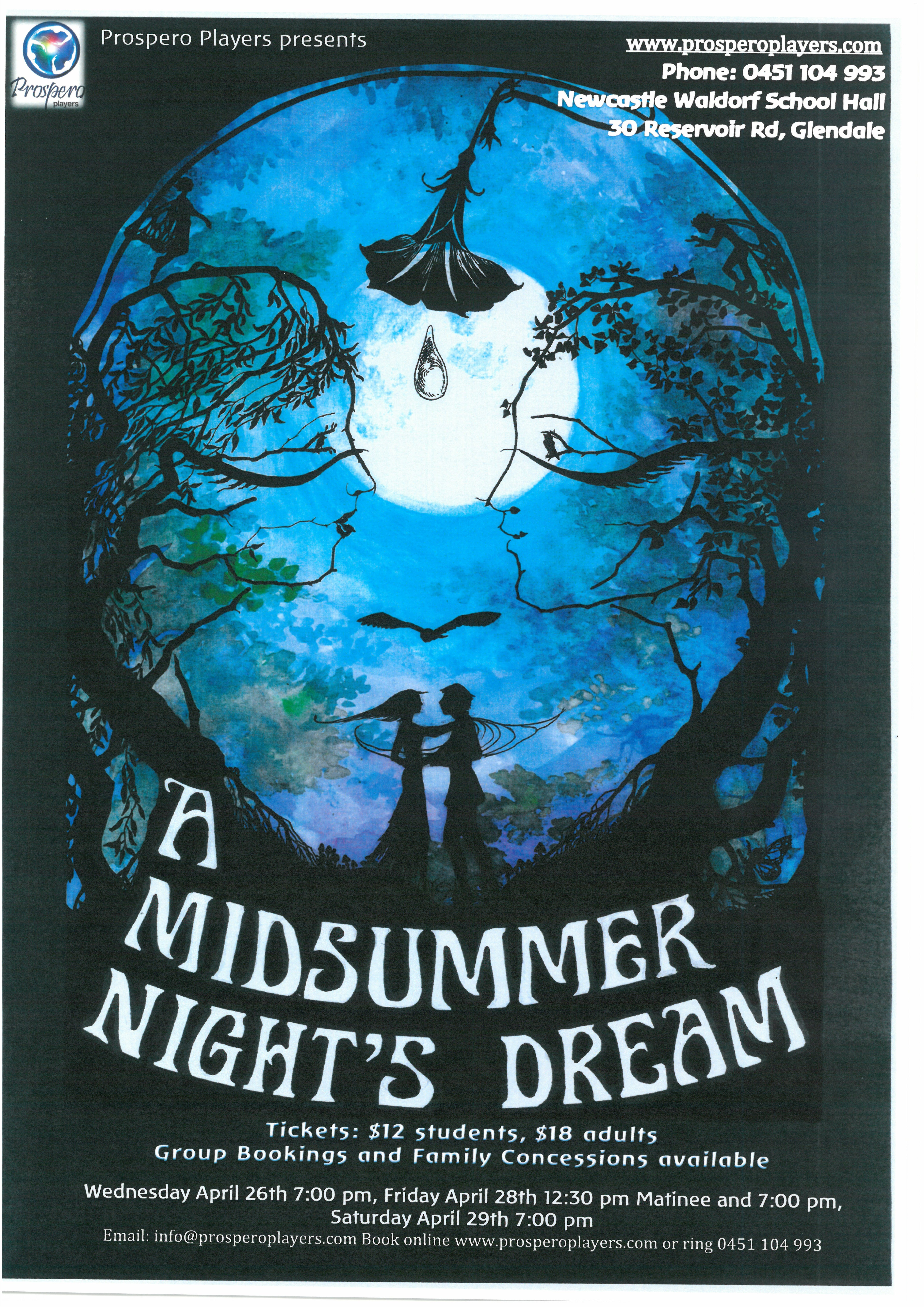 a midsummer night s dream and the Outdoor theatre, shakespeare under the stars, the wind in the willows, education programs and much more.